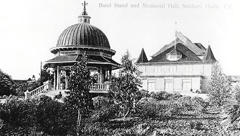 Band Stand and Memorial Hall at the National Soldiers' Home