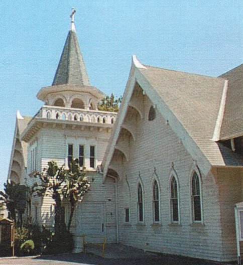 East Side of the Wadsworth Chapel at National Soldiers' Home