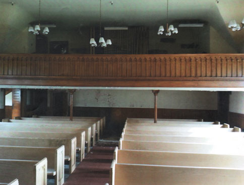 The Chapel Today at the National Soldiers' Home